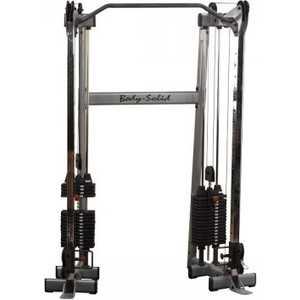 Кроссовер Body Solid угловой с двумя весовыми стеками по 72.5 кг (GDCC210)