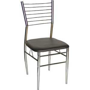Стул МС мебель A-19 черный, 4 шт