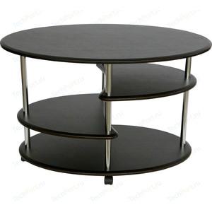 Стол журнальный Калифорния мебель Эллипс СЖ-01 венге стол журнальный калифорния мебель бруклин венге