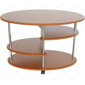Стол журнальный Калифорния мебель Эллипс СЖ-01 вишня журнальный столик узкий сокол сж 4