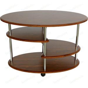 Стол журнальный Калифорния мебель Эллипс СЖ-01 орех цены