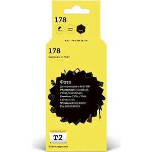 Картридж T2 CB317HE №178 (IC-H317)