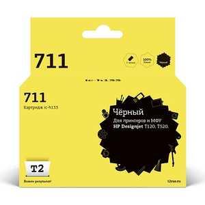 Картридж T2 CZ133A № 711 (IC-H133) картридж hp 711 cz133a 80ml black