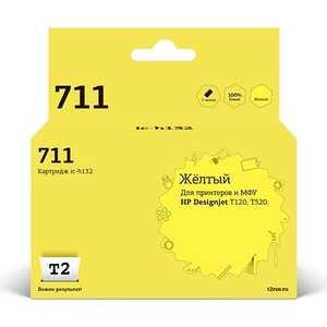 Картридж T2 CZ132A № 711 (IC-H132) картридж hp 711 cz132a yellow