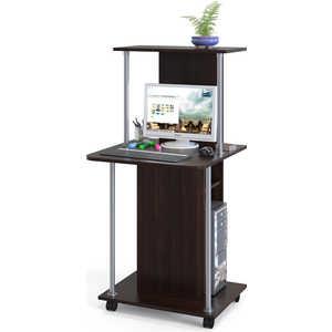 Стол компьютерный СОКОЛ КСТ-12 венге компьютерный стол сокол кст 107 1 кн 24 венге
