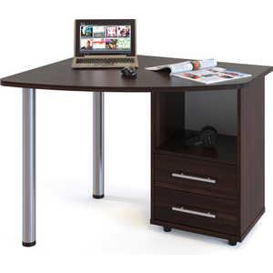 Стол компьютерный СОКОЛ КСТ-102 Правый венге