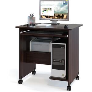 Стол компьютерный СОКОЛ КСТ-10.1 венге компьютерный стол сокол кст 04 1в кн 24в венге
