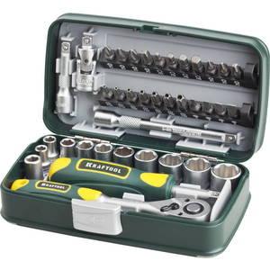 Набор головок торцевых и бит Kraftool 38 предметов Industrie (27970-H38)