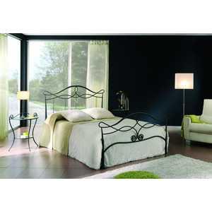 Кровать Dupen 512 (180х200) графит dupen t 017 хром