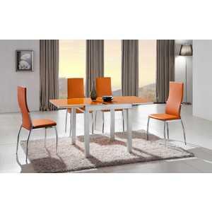 Обеденный стол ESF 4001 оранжевый