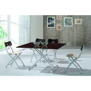 Обеденный стол ESF В2166 AG венге обеденный стол дик стол 41 венге стекло черное