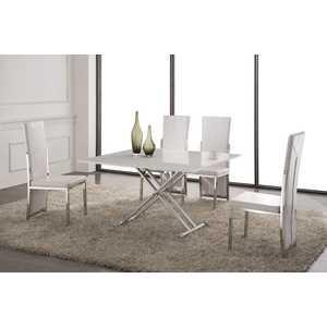 Обеденный стол ESF В2166 AG белый лак стол обеденный esf t 088 180