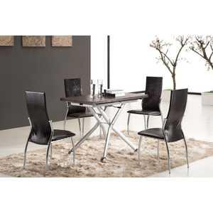 Обеденный стол ESF В2176 AG венге обеденный стол дик стол 41 венге стекло черное