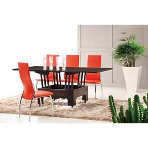 Обеденный стол ESF В2202 AG новый венге обеденный стол дик стол 41 венге стекло черное