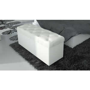 Пуф ТриЯ Тип 3 белый спальный гарнитур трия саванна к1