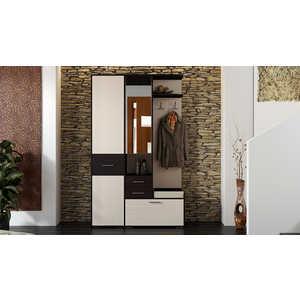 Прихожая ТриЯ Пикассо 2.1 венге цаво/дуб белфорт тумбочка мебель трия прикроватная токио пм 131 03 см дуб белфорт венге цаво
