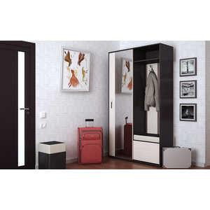 Прихожая ТриЯ Пикассо 4 венге цаво/дуб белфорт тумбочка мебель трия прикроватная токио пм 131 03 см дуб белфорт венге цаво
