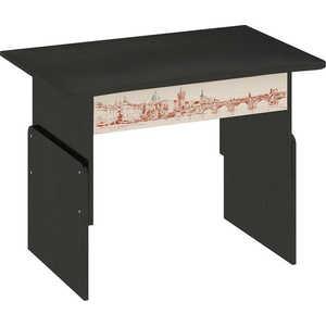 Стол трансформер ТриЯ Тип 1 с рисунком венге цаво/дуб молочный  стол компьютерный трия школьник стиль м с рисунком венге цаво дуб молочный