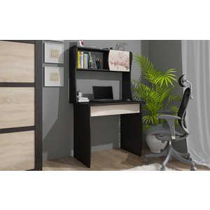 Стол компьютерный ТриЯ Юниор с рисунком венге цаво/дуб молочный спальный гарнитур трия саванна к1