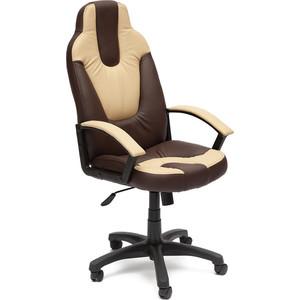 Кресло офисное TetChair NEO (2) 36-36/36-34 коричневый/бежевый стул компьютерный tetchair step бежевый коричневый
