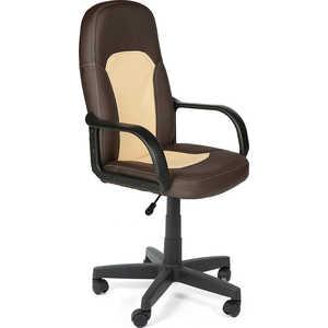 Кресло офисное TetChair PARMA 36-36/36-34 коричневый/бежевый