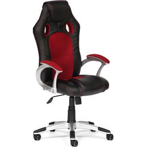 Кресло офисное TetChair RACER 36-6/13 черный/бордо