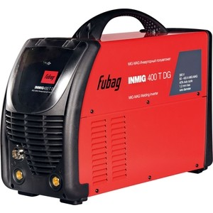 Инверторный сварочный полуавтомат Fubag INMIG 400 T DG плазморез fubag plasma 65 t