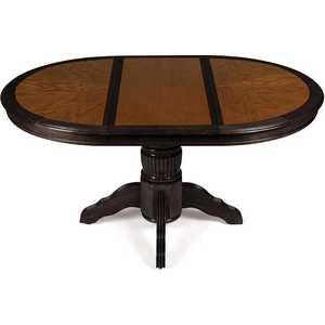 Стол круглый раскладной TetChair Rochester 4260-STP темный орех/венге комплект стульев обеденных 2 шт tetchair jupiter jt sc2 цвет тёмный орех