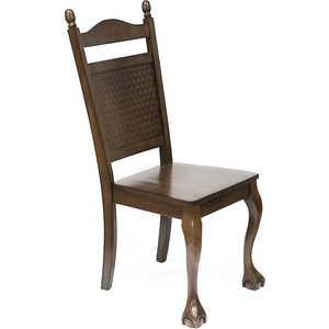 Стул TetChair CCRR-466W-E ротанг темно-коричневый стул tetchair компьютерный розовые сердечки