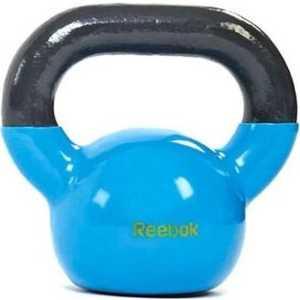 Гиря Reebok 7.5 кг Kettlebell Cyan голубой (RAWT-18007CY)