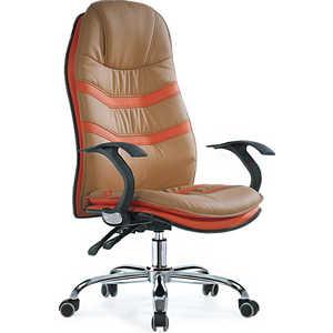 Офисное кресло SmartBuy SB-A326 бежевое с оранжевым