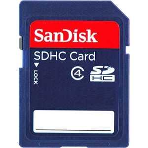 Карта памяти Sandisk SD 32GB SDHC Class 4 (SDSDB-032G-B35)
