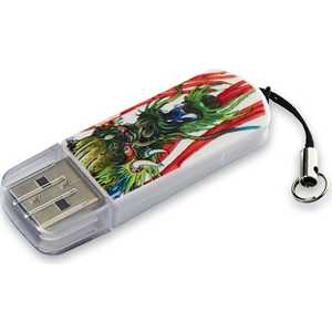 Флеш накопитель Verbatim 16GB Mini Tattoo Edition USB 2.0 Дракон (49888) new top mini palm tattoo power supply red