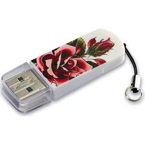 Флеш накопитель Verbatim 16GB Mini Tattoo Edition USB 2.0 Роза (49885) new top mini palm tattoo power supply red