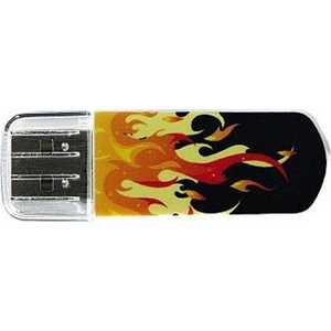 Флеш накопитель Verbatim 8GB Mini Elements Edition USB 2.0 Fire (98158)