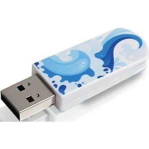 Флеш накопитель Verbatim 8GB Mini Elements Edition USB 2.0 Water (98159)