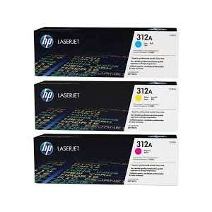 Kартридж HP №312A MultiPack (CF440AM) kартридж hp 312a yellow cf382a