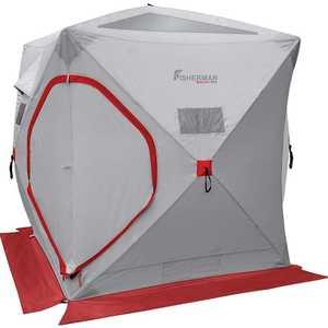 Палатка для зимней рыбалки Fisherman Куб Серый