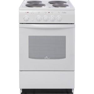 Электрическая плита DeLuxe 5004.12 э (белая)