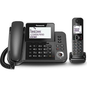 Радиотелефон Panasonic KX-TGF320RUM радиотелефон panasonic kx tg1611ruj бежевый kx tg1611ruj