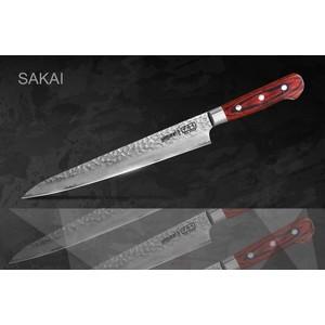 Нож для нарезки Samura Sakai 24 см SJS-0045 зажим tdm sq0510 0045