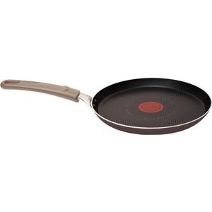 Сковорода для блинов Tefal Tendance Chocolate d 22 см 041 47 522 сковорода tefal meteor ceramic d 24 см c4000472