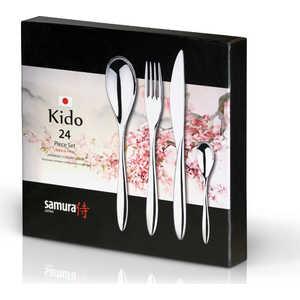 Набор столовых приборов из 24 предметов Samura Kido SCK-001