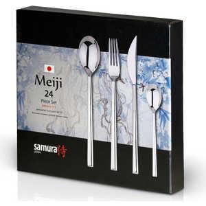 Набор столовых приборов из 24 предметов Samura Meiji SCMJ-001