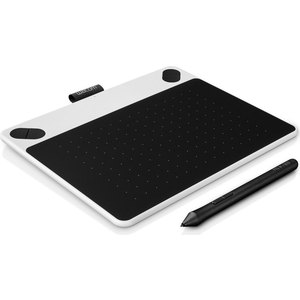 Графический планшет Wacom Intuos Draw Pen Small White (CTL-490DW-N)