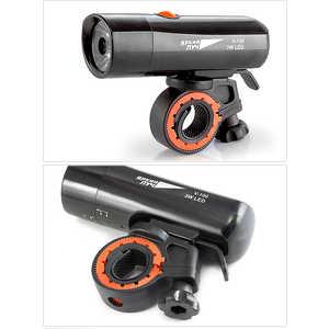 Фото - Фонарь велосипедный Яркий луч V-100 LED 3W 3 режима 7000k 3w 200 lumen white 3 led streetlight emitter metal strip w optical lens 9 11v