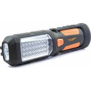 Фонарь Яркий луч Оптимус автомоб-ный 2 реж магнит/крюк на 3xAA фонарь яркий луч оптимус