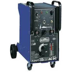 Сварочный аппарат BlueWeld King Tig 200 AC/DC-HF/Lift 3 dc to ac single phase solid state relay ssr 150a 3 32v dc 1200v ac