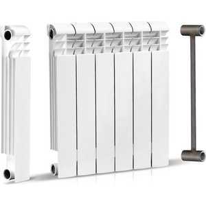 Радиатор отопления General Hydraulic биметаллический Viertex 500-80С 80мм (35 BAR) 6 секций (214900006)