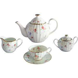 Чайный сервиз Colombo Флёр из 15 предметов на 6 персон (C2-TS/15-3701AL) colombo чайный сервиз из 15 предметов на 6 персон флёр c2 ts 15 3701al